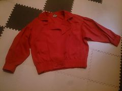 CORDIER 薄手のジャンパー 赤 超美品 40号