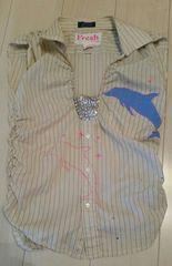 ●Fresh●ノースリーブシャツ sizeフリー