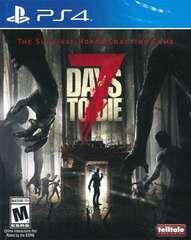 PS4#7DAYS TO DIE(北米版) 新品