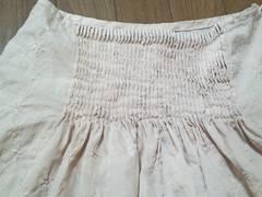 iiMK刺繍ふんわりスカート