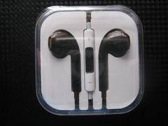 新品 iPhone iPod touch用 イヤホンマイク [黒]