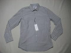 fy924 男 CK CALVIN KLEIN カルバンクライン チェックシャツ M