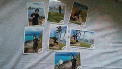 亀梨和也  公式写真  ハワイオフショット  全7枚