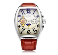 腕時計 自動巻き 機械式 メンズ ブラウン