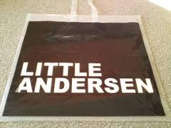 ヒスミニリトルアンデルセン 大きなショップ袋