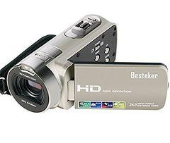 ポータブルビデオカメラ 2400万画素 HD1080P 16倍デジタルズーム