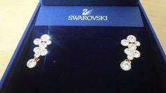 スワロフスキーSWAROVSKI  GOLD PLATEDピアス1043127