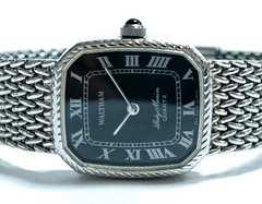 美品★正規 ウォルサム/WALTHAM 古いクォーツ腕時計★