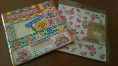 折紙2セット☆ちよがみ彩色印花紙&フラワーショップ