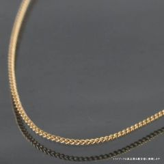 K18 1.4g 50cm 幅0.8mm 2面 喜平 ネックレス 18金 検定付 024
