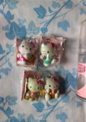 *新品 キティちゃん おまもりマスコット 4ケ*