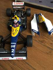 1/18 WILLIAMS RENAULT FW15C Alain Prost