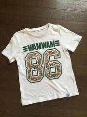 WAMWAM☆迷彩×ナンバーTシャツ