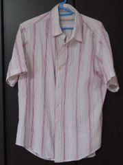 TK 半袖リバーシブルストライプシャツ サイズ2/M 送料込み