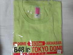 「AKB48 in TOKYO DOME 〜1830mの夢〜」Tシャツ チームK・XL