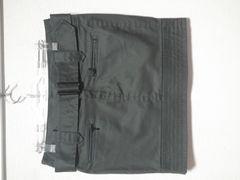 100スタ新品ユニクロUNIQLOコーティングクロス素材\3000ミニタイトスカートSカーキ色