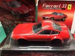 京商 1/64 フェラーリ11 356GTB4 competizione レッド