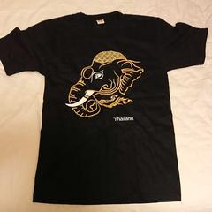 タイ土産 象プリントTシャツ 新品未使用