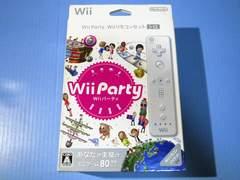 ●新品●Wii Party Wiiリモコンセット(シロ)★