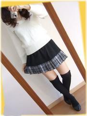629新品★裾切り替えプリーツ 黒 ミニスカート リメイク