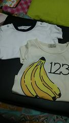 NIKE&バナナTシャツ☆*size80二枚セット
