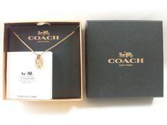 9075/COACHコーチ去年購入新しいデザインのネックレス定価25920円