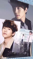 2PM ジュノ JUNHO公式グッズ4点セットファスナーアクセ、ポートレイト他