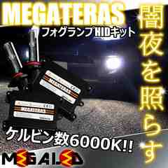 Mオク】メビウス40系ZVW41/フォグランプHIDキット/H11/6000K