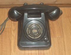 黒電話型スピーカーフォン?NEC NTP10BS動作未確認