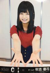 AKB48 0と1の間 秋吉優花 生写真 HKT48