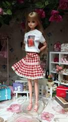 ジェニーちゃんバービーのスカート