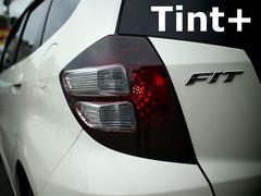 Tint+水洗→再利用OK フィットGE6前期テールランプ スモークフィルム