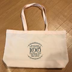 ピーチジョン 100号記念 特製トートバッグ お風呂バッグ