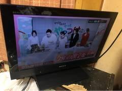 ソニー地デジ22型液晶テレビ