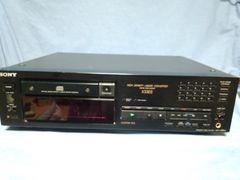 ソニー CDプレイヤー CDP-X33ES 難あり