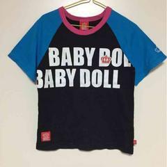 BABY DOLL  ベビードール  ラグランTシャツ