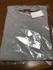 新品タグ付き MACBETH メンズ ロンT 長袖Tシャツ グレー L