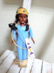 ビンテージインデアン人形  レトロ