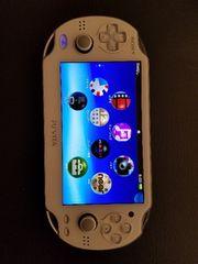 PSVITAホワイト+8GBメモリー+専用ケース
