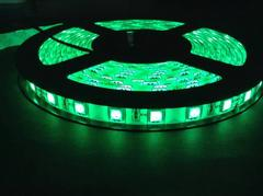 12V用 LEDテープライト 5m 防水 300連 白ベース  グリーン 緑