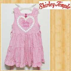 ShirleyTemple シャーリーテンプル ギンガムチェック ワンピース 120 子供服