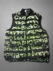 B-BOY.スト系 新品 BLACK CARD ベスト XL 黒