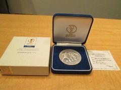 注目!FIFA日韓ワールドカップ 記念貨幣発行記念純銀メダル