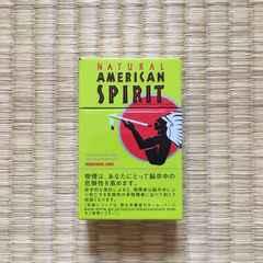 非売品ノベルティ・アメリカンスピリット・パッケージ柄缶ケース