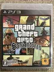 グランドセフトオート サンアンドレアス 新品未開封 PS3