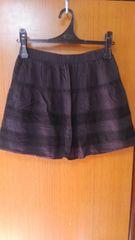 �B黒のミニスカート