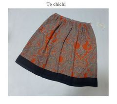 テチチ*Te'chichi*SM2〓ペイズリースカーフ柄スカート〓新品〓