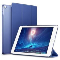iPad Mini4 ケース クリアネイビーブルー
