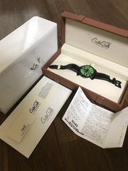 本物】中古。ガガミラノ腕時計マヌアーレ48MM 限定保証書あり