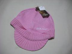 wb343 女 BILLABONG ビラボン つば付き ニット帽 ビーニー